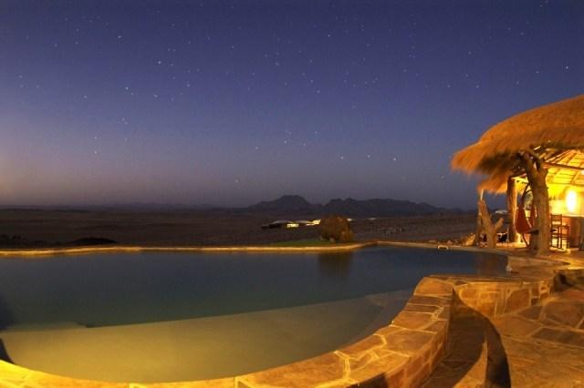 Foto Piscina del hotel Rostock Ritz Desert Lodge