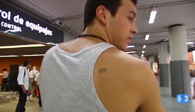 mario casas tiene tatuada una h fotos mujerdeelite