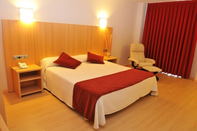 Foto Habitación del Hotel del Vino en Aragón