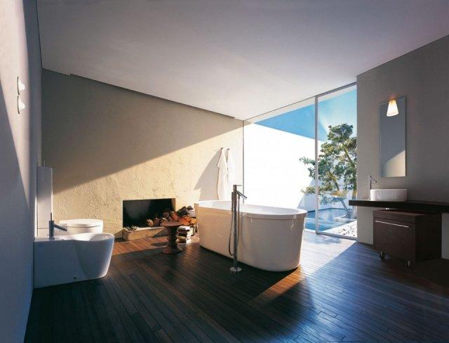 Foto El diseño clásico y atemporal: clave de un baño de ensueño