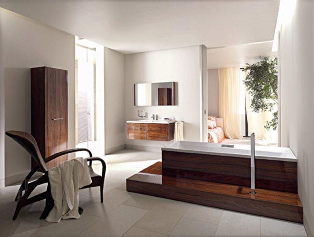 Foto En el baño, el diseño no debe estar reñido con la utilidad y la comodidad
