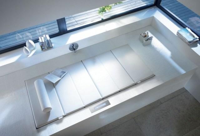 Foto Una bañera que sirve para algo más que bañarse