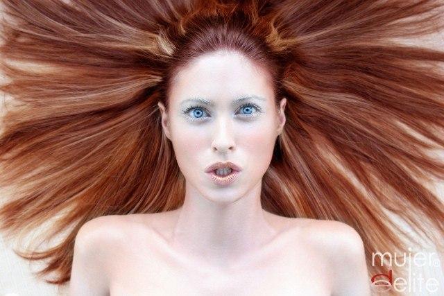 Foto Consejos para un cabello pelirrojo brillante y sano