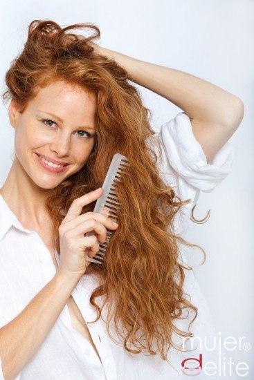 Foto El cabello pelirrojo natural también necesita protección y cuidados