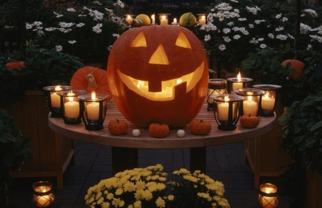 Foto Calabazas para decorar la casa en Halloween
