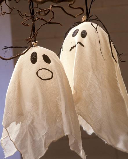 Foto Cómo hacer fantasmas para Halloween