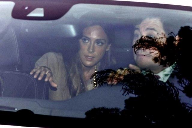 Foto Tamara Falcó a su llegada a la boda de Julio Iglesias Jr. y Charisse Verhaert