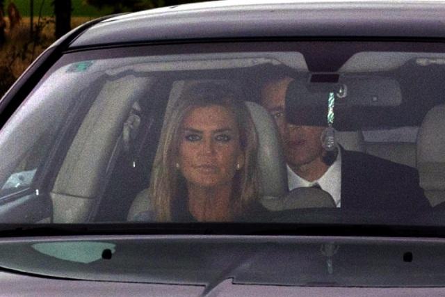 Foto Susana Uribarri a su llegada a la boda de Julio Iglesias Jr. y Charisse Verhaert