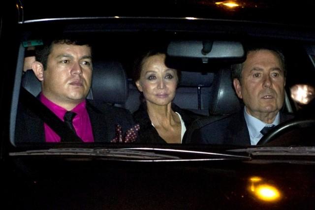 Foto Isabel Preysler a su llegada a la boda de Julio Iglesias Jr. y Charisse Verhaert