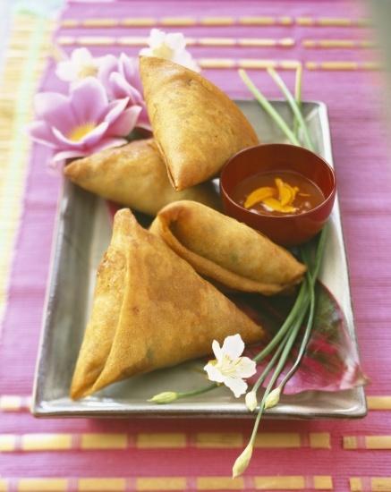 Foto Samosas, las empanadillas hindúes
