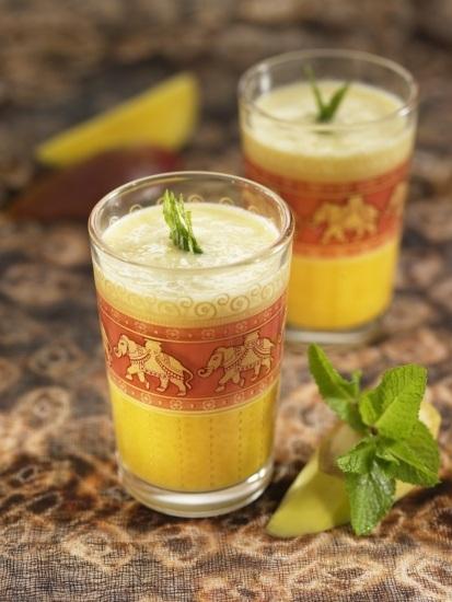 Foto Lassi: una deliciosa bebida hindú