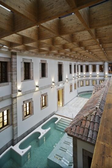 Foto Manantial del Gran Hotel Las Caldas, Oviedo, Asturias