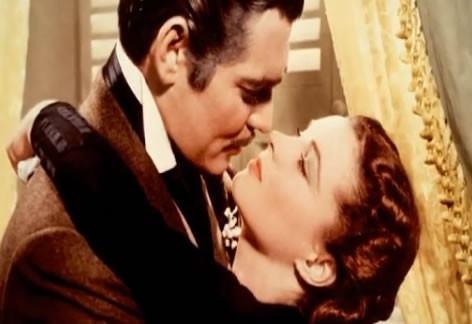 Foto Vivien Leigh y Clark Gable en Lo que el viento se llevó