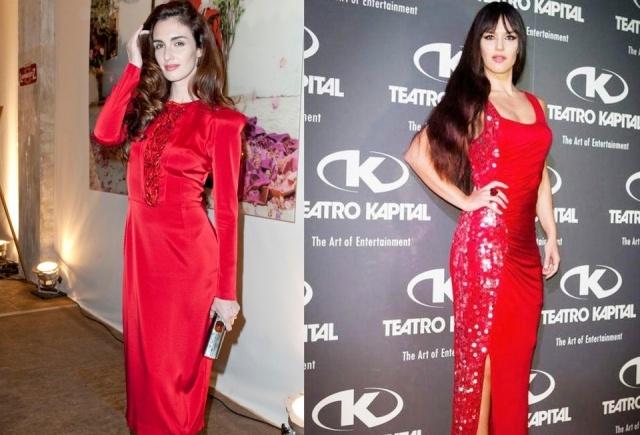 Foto Paz Vega y su hermana Sara Campos