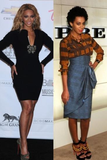 Foto Beyoncé y su hermana Solange Knowles