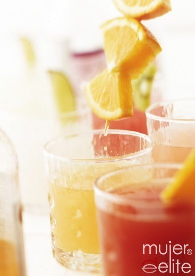 Foto Cócteles con zumos de frutas para despertar la líbido