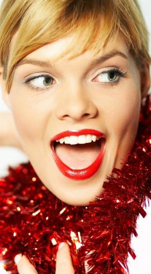 Foto En Navidad, disfruta, sigue guapa y aprende a mantenerte delgada