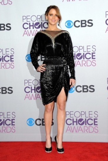 Foto Jennifer Lawrence en la entrega de los People´s Choice Awards 2013