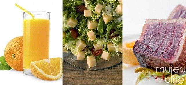 Foto Los cítricos, las verduras y el pescado ayudan a que tu pelo esté sano