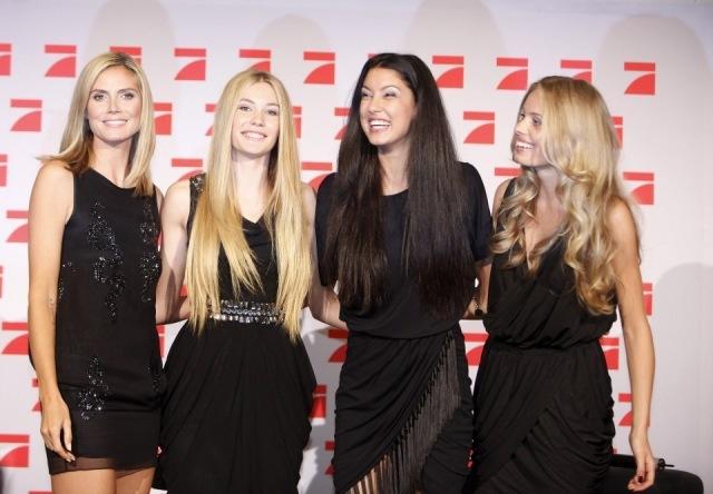 Foto Heidi Klum aconseja a las jóvenes promesas de la moda