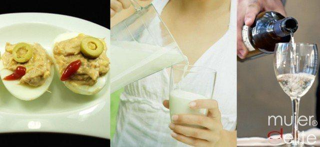Foto La leche, el alcohol y los huevos se eliminan en la Dieta Detox