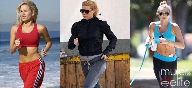 Foto Running, el deporte favorito de las famosas