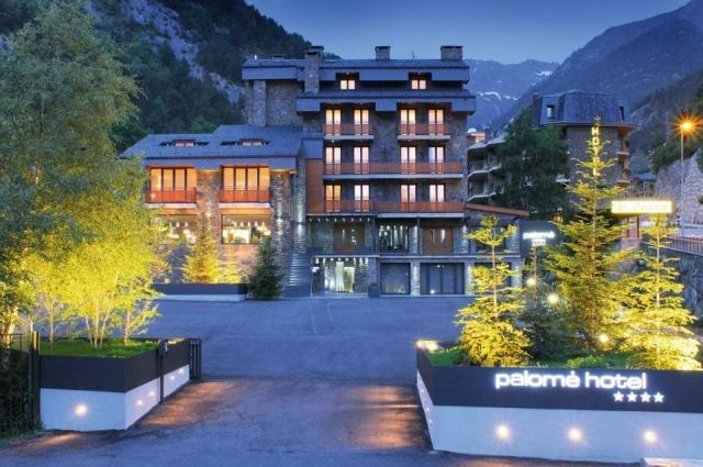 Foto Exterior del Hotel Palomé en Vallnord, Andorra