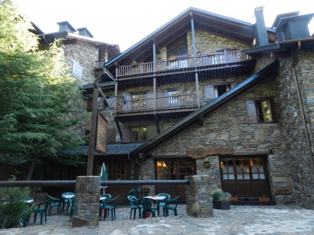 Foto Exterior del Hotel El Xalet en Grandvalira, Andorra