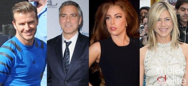 Foto David Beckham, George Clooney, Lady Gaga y Jennifer Aniston fans del Bikram Yoga