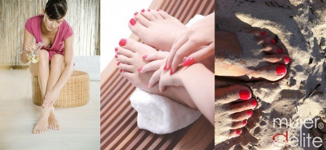 Foto Manicura y pedicura con masaje ayurvédico