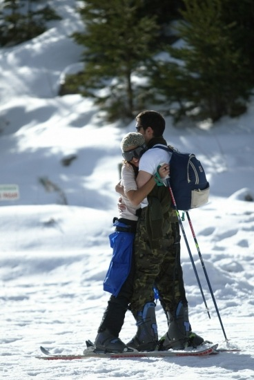Foto Puedes practicar esquí en pareja durante Semana Santa