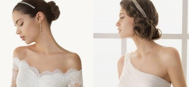 Foto Tendencias en recogidos de novias para primaveraverano 2013