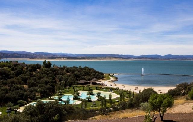 Foto Vistas desde el hotel Husa Golf Valdecañas, El Gordo, Cáceres