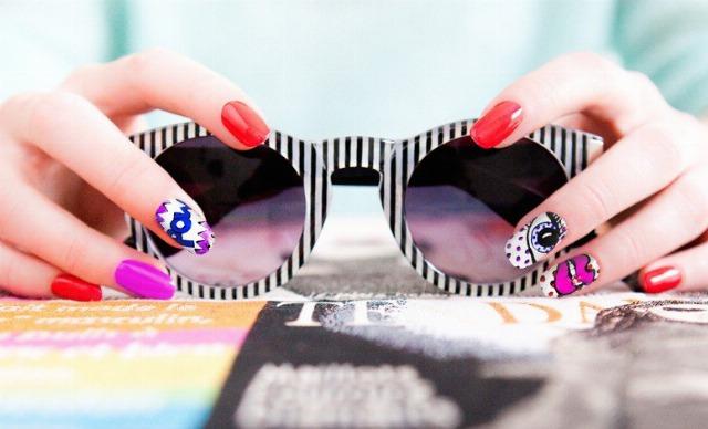Foto Color y diversión en tus uñas para esta primaveraverano
