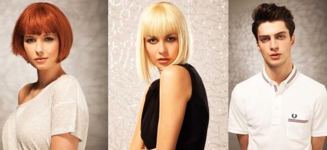 Foto Flequillos para media melena como tendencia en peinados primavera verano 2013