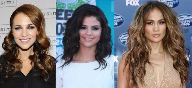 Foto Paula Echevarría, Selena Gómez y Jennifer López lucen diferentes peinados aptos para cabellos rizados
