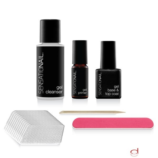 Kit para hacer en casa u�as de gel