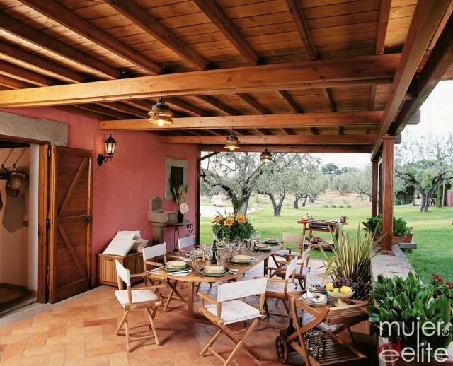Foto Aprovecha el porche o la terraza para organizar una fiesta en casa