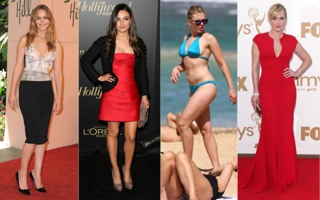 Foto Famosas consideradas gordas para Hollywood