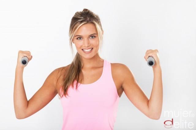 Foto Tabla de ejercicios para unos brazos firmes y tonificados