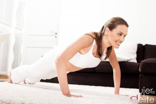Foto Las flexiones, un ejercicio perfecto para tonificar brazos
