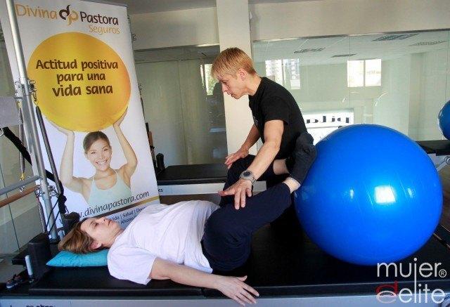Foto Ejercicios de Pilates preparto