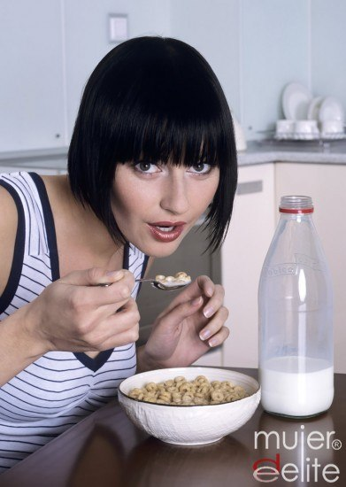 Foto La leche, enemiga de un vientre plano