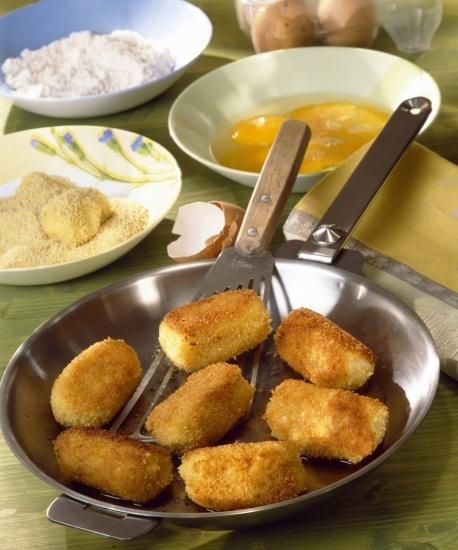 Foto Croquetas almendradas sin gluten