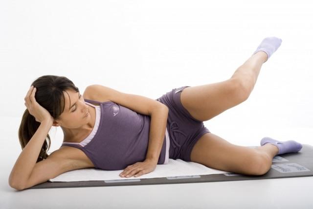 Foto Consigue una colchoneta para ponerte en forma con ejercicios de suelo