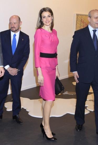 Foto La princesa Letizia y sus estudiadas posturas