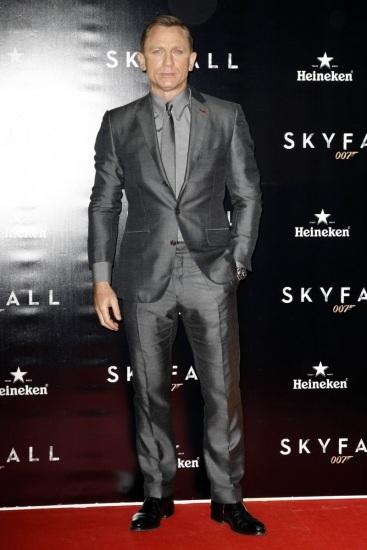 Foto Daniel Craig un James Bond muy sexy con canas