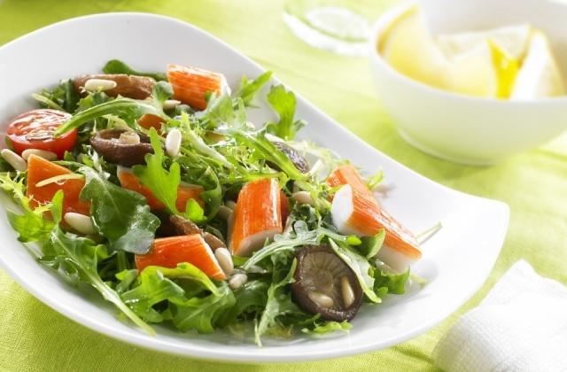 Recetas con surimi bajas en caloras frescas y rpidas - Ensaladas con pocas calorias ...