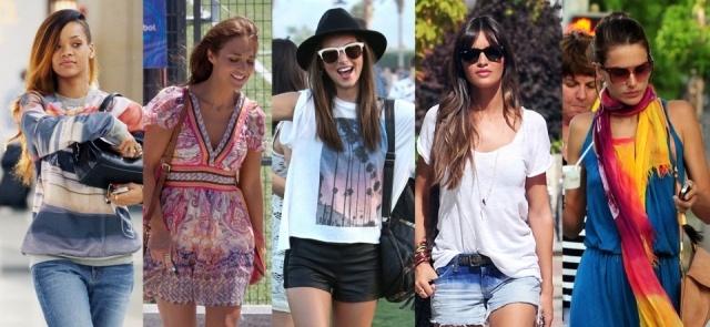 Foto Rihanna, Paula Echevarría, Miranda Kerr, Sara Carbonero y Alessandra Ambrosio saben cómo ir al campo con estilo