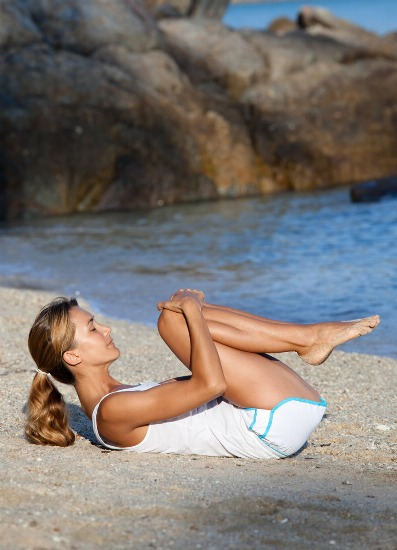 Foto Ejercicios para practicar en la playa
